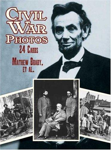 9780486281322: Civil War Photos: 24 Cards (Dover Postcards)