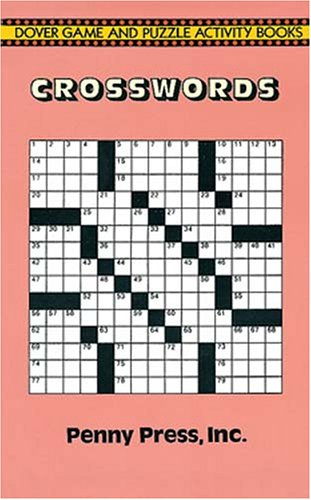 9780486281391: Crosswords (Dover Game and Puzzle Activity Books)