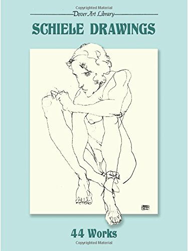 9780486281506: Schiele Drawings: 44 Works (Dover Fine Art, History of Art)