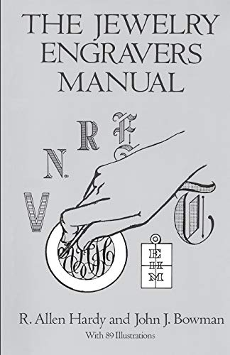9780486281544: The Jewelry Engravers Manual (Dover Craft Books)
