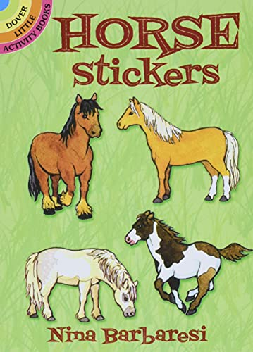 9780486281711: Horse Stickers (Dover Little Activity Books Stickers)