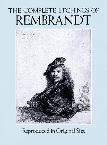 9780486281810: The Complete Etchings of Rembrandt: Reproduced in Original Size (Dover Fine Art, History of Art)