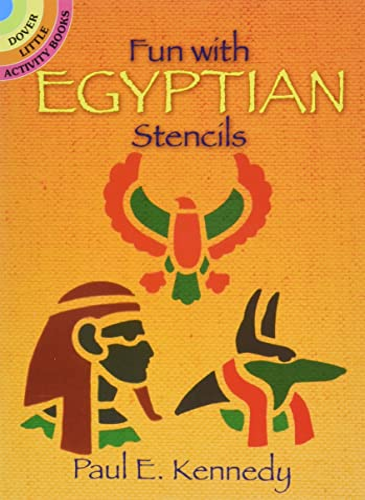 9780486282046: Fun with Egyptian Stencils (Dover Stencils)