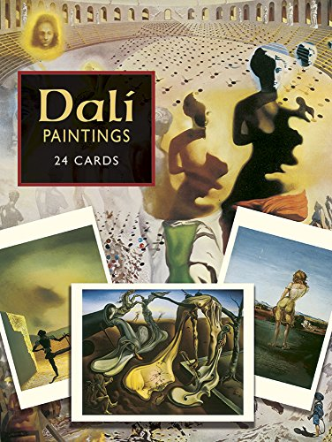 9780486282862: Dali Postcards: 24 Paintings from the Salvador Dali Museum (Dover Postcards)
