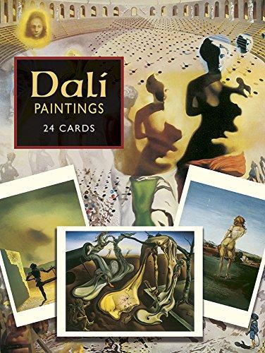 Dali Postcards: 24 Paintings From The Salvador Dali Museum.: Dali, Salvador.