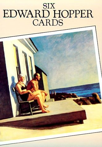 9780486282879: Six Edward Hopper Cards (Small-Format Card Books)