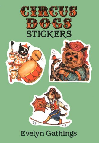 9780486283043: Circus Dog Stickers (Dover Stickers)