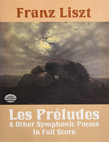 9780486283227: Les Preludes and Other Symphonic Poems in Full Score