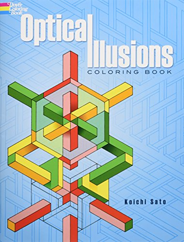 9780486283302: Optical Illusions Coloring Book (Dover Design Coloring Books)