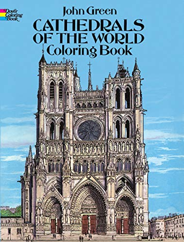 9780486283395 cathedrals of the world coloring book dover coloring books - Dover Coloring Books