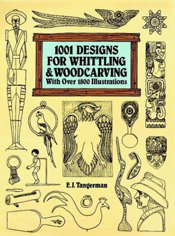 9780486283623: 1001 Designs for Whittling and Woodcarving