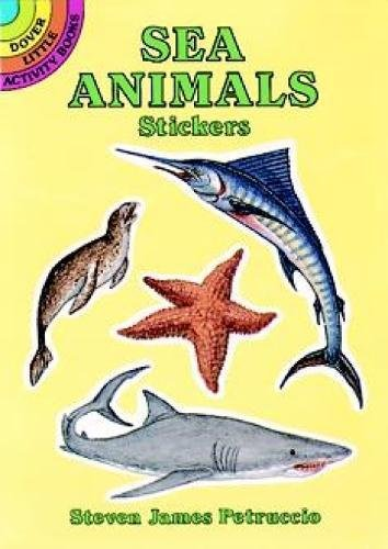 9780486283999: Sea Animals Stickers (Dover Little Activity Books Stickers)