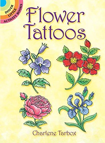 9780486284149: Flower Tattoos (Dover Tattoos)