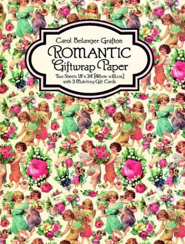 9780486284170: Romantic Giftwrap Paper (Giftwrap-2 Sheets, 1 Designs)
