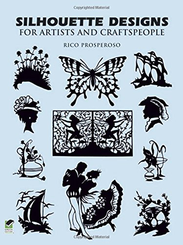 9780486284521: Silhouette Designs for Artists and Craftspeople