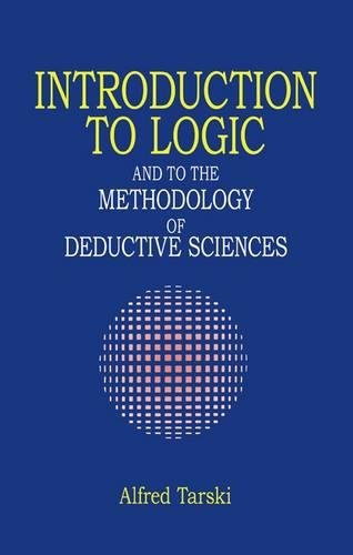 9780486284620: Introduction to Logic and to the Methodology of Deductive Sciences