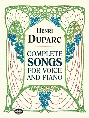 9780486284668: Complete Songs for Voice and Piano (Dover Song Collections)