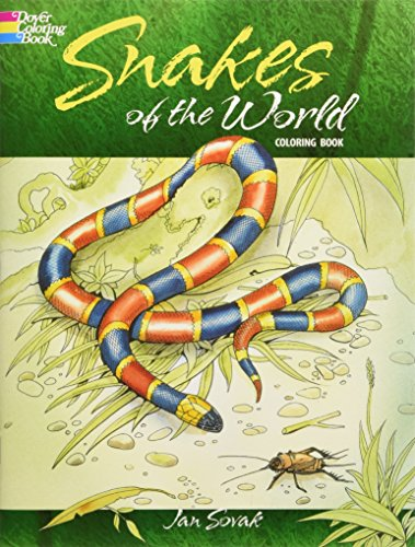 9780486284712: Snakes of the World Coloring Book (Dover Nature Coloring Book)