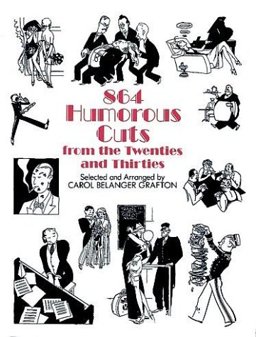 9780486284880: 864 Humorous Cuts from the Twenties and Thirties