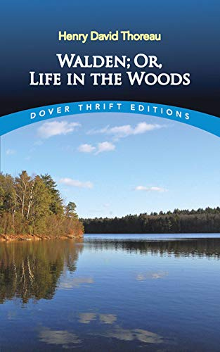 9780486284958: Walden: Or, Life in the Woods (Dover Thrift Editions)