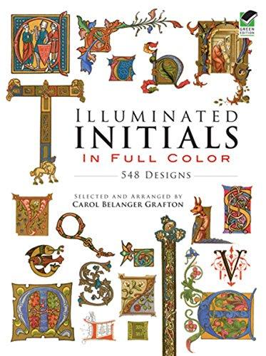 9780486285016: Illuminated Initials in Full Color: 548 Designs
