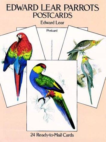 9780486285030: Edward Lear Parrots Postcards: 24 Ready-to-Mail Cards (Card Books)