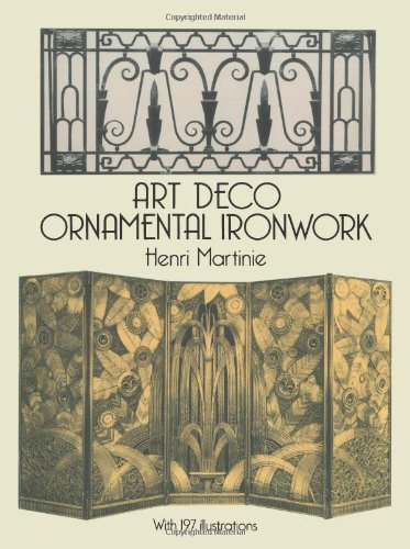 9780486285351: Art Deco Ornamental Ironwork (Dover Jewelry and Metalwork)
