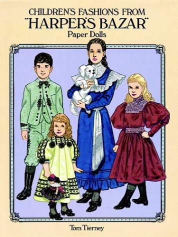 Children's Fashions from 'Harper's Bazar' Paper Dolls