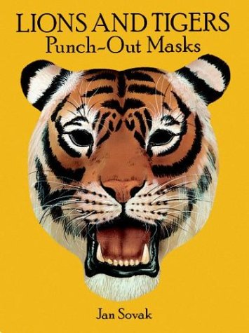 9780486285719: Lions and Tigers/Punch Out Masks