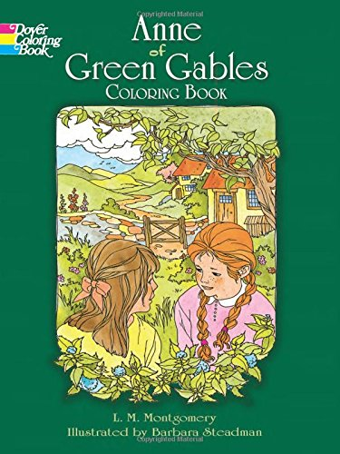 9780486285894: Anne of Green Gables Coloring Book (Dover Classic Stories Coloring Book)