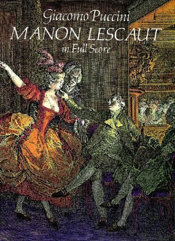 9780486285900: Manon Lescaut (Dover Music Scores)