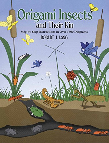 9780486286020: Origami Insects and Their Kin: Step-By-Step Instructions in over 1500 Diagrams