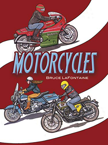 9780486286266: Motorcycles Colouring Book (Dover History Coloring Book)