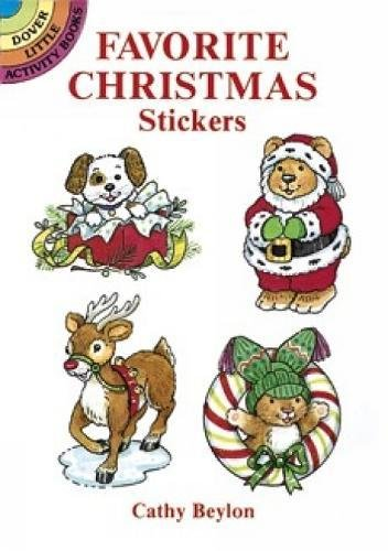 9780486286297: Favourite Christmas Stickers (Dover Little Activity Books Stickers)