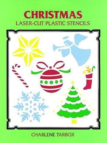 9780486286372: Christmas Laser-Cut Plastic Stencils