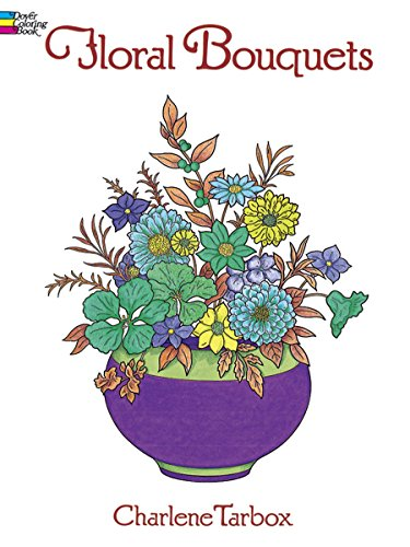 9780486286549: Floral Bouquets Colouring Book (Dover Nature Coloring Book)