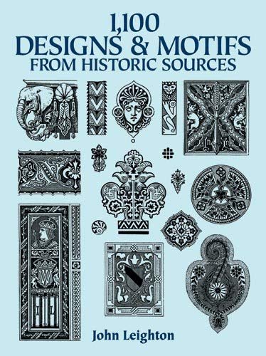 9780486287300: 1,100 Designs and Motifs from Historic Sources (Dover Pictorial Archive)