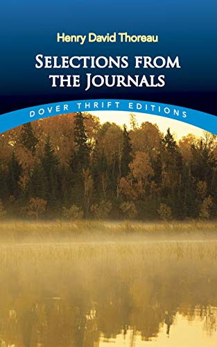 Selections from the Journals (Dover Thrift Editions): Henry David Thoreau