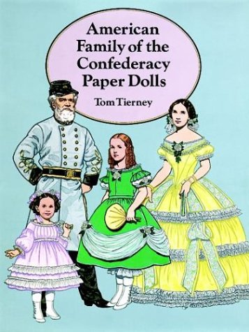 9780486287614: American Family of the Confederacy Paper Dolls (Dover Paper Dolls)