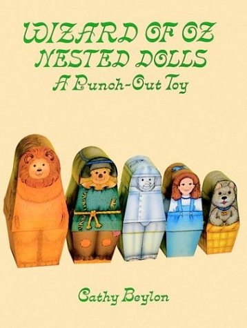 9780486287645: Wizard of Oz Nested Dolls: A Punch-Out Toy (Punch-Out Paper Toys)
