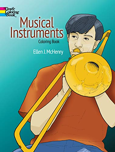 9780486287850: Musical Instruments Coloring Book (Dover Design Coloring Books)