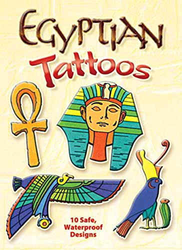 EGYPTIAN TATTOOS (10 full-color tattoos on 2: Mirow, Gregory