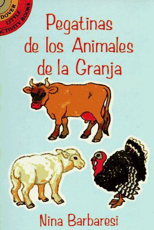 9780486288383: Pegatinas De Los Animals De La Granja (Farm Animals Stickers in Spanish)