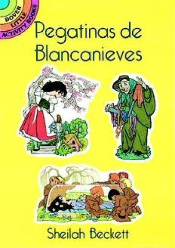 9780486288390: Pegatinas De Blancanieves (Snow White Stickers in Spanish) (Dover Little Activity Books)