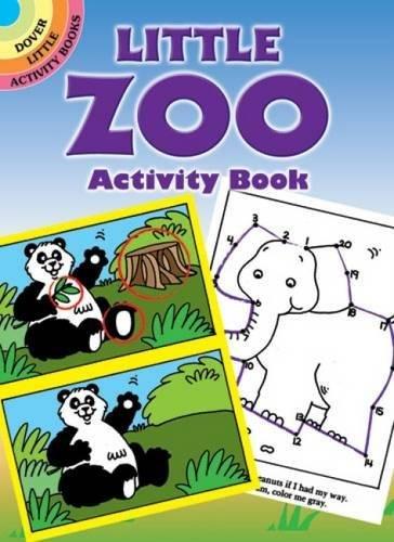 Little Zoo Activity Book (Dover Little Activity Books): Becky J. Radtke