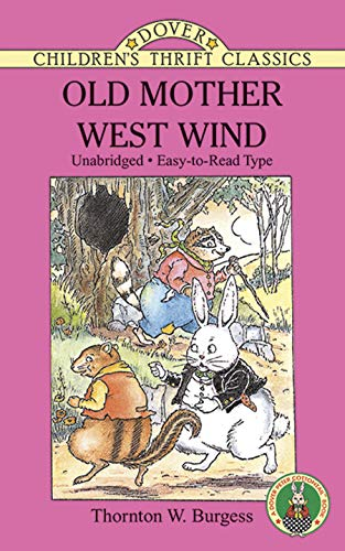 9780486288499: Old Mother West Wind (Dover Children's Thrift Classics)