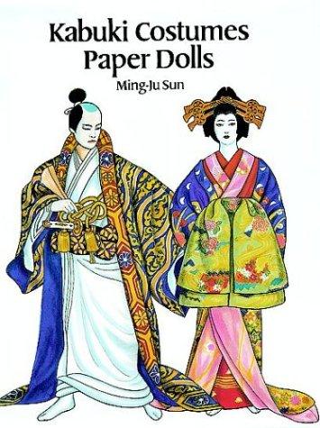 Kabuki Costumes Paper Dolls: Sun, Ming-Ju