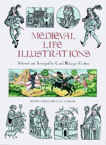 9780486288628: Medieval Life Illustrations (Dover Pictorial Archive Series)