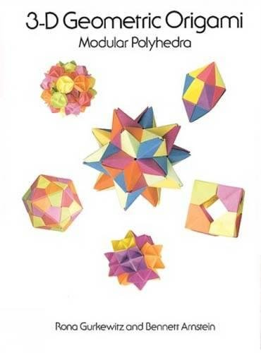 9780486288635: 3-D Geometric Origami (Dover Origami Papercraft)