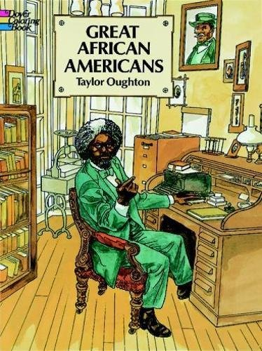 9780486288789: Great African Americans Coloring Book (Dover History Coloring Book)